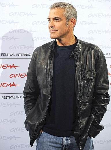 Roma 2009: George Clooney presenta Tra le nuvole
