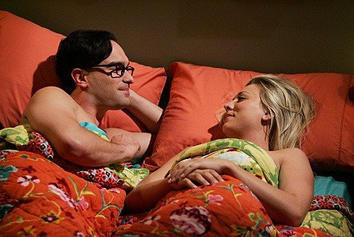 The Big Bang Theory: Johnny Galecki e Kaley Cuoco nell'episodio The Creepy Candy Coating Corollary