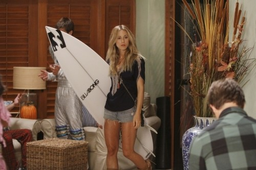 90210: Gillian Zinser nell'episodio Unmasked
