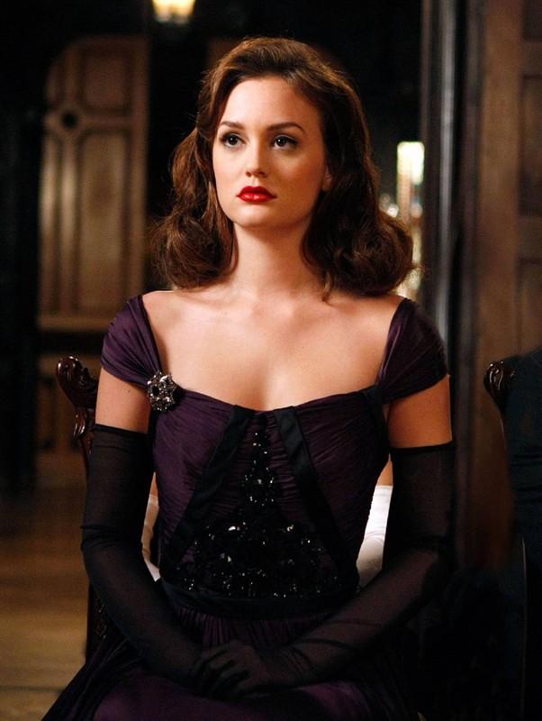 Blair (Leighton Meester) in una scena dell'episodio Enough About Eve della terza stagione di Gossip Girl