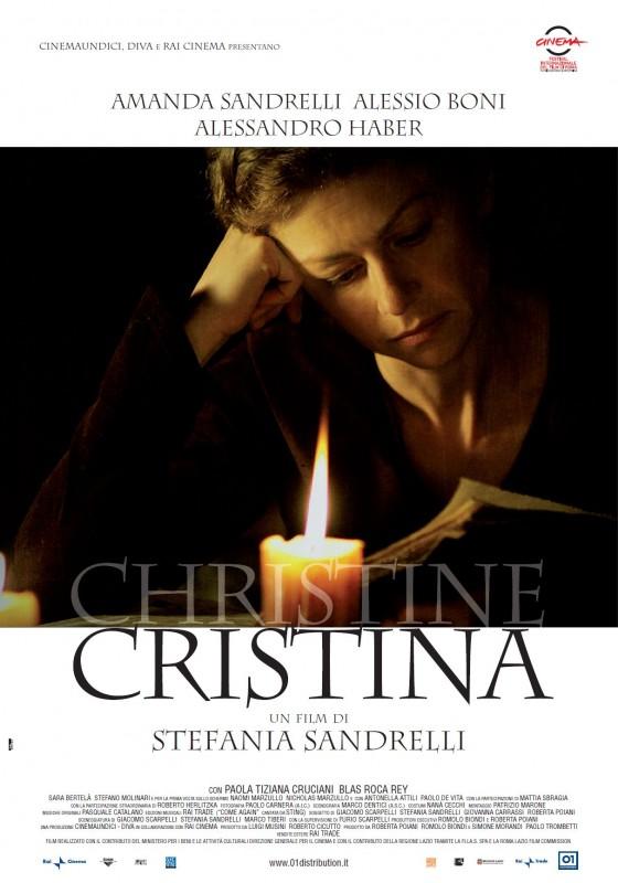La locandina di Christine Cristina