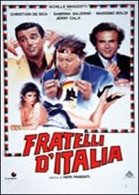La locandina di Fratelli d'Italia