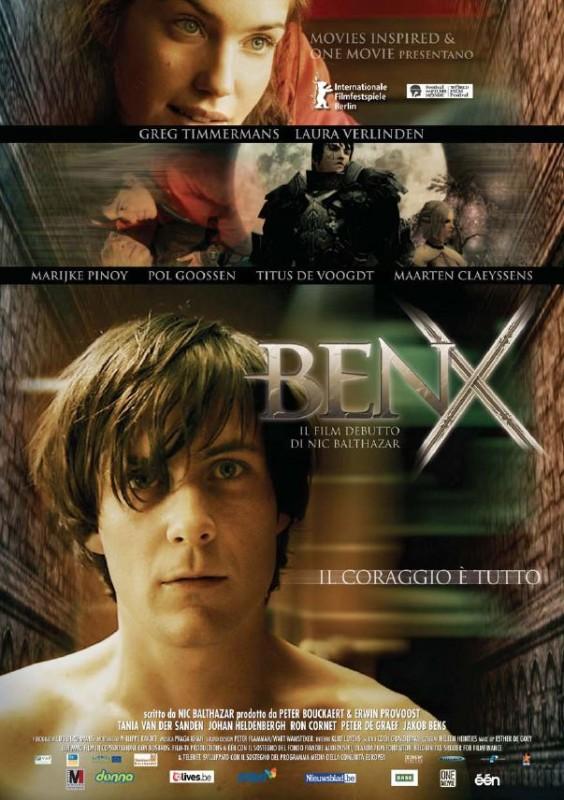 La locandina italiana di Ben X