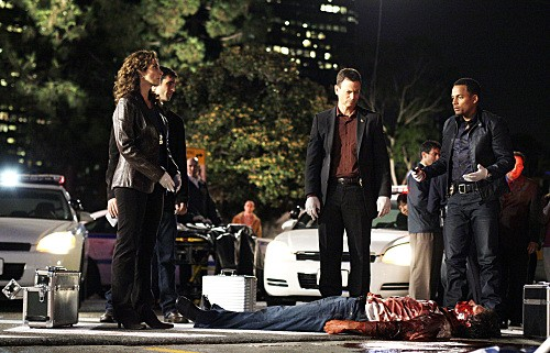 CSI NY: Una scena dell'episodio It Happened to Me