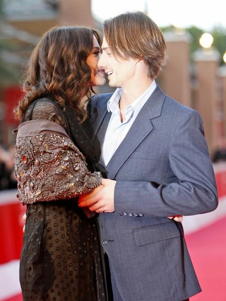 Festival di Roma 2009: Asia Argento e suo marito Michele Civetta
