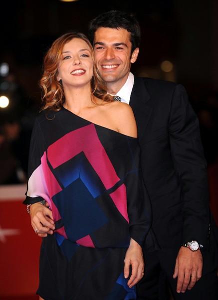 Festival di Roma 2009: Luca Argentero e sua moglie Myriam Catania