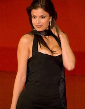 Festival di Roma 2009: Sara Tommasi 'fuori di seno'