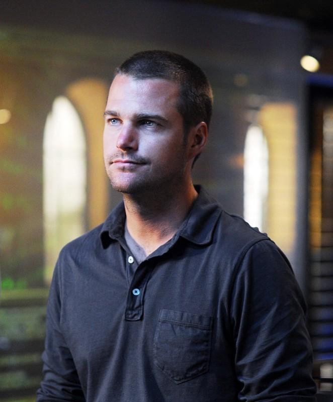 G (Chris O'Donnell) in una scena dell'episodio Killshot di NCIS: Los Angeles