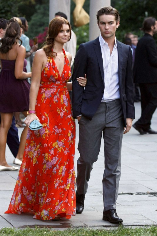 JoAnna Garcia e Chace Crawford nell'episodio Rufus Getting Married di Gossip Girl