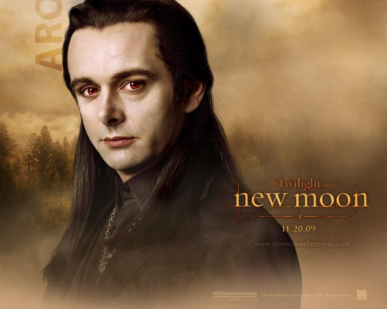 Un wallpaper dedicato al personaggio di Aro (Michael Sheen) per il film Twilight Saga: New Moon