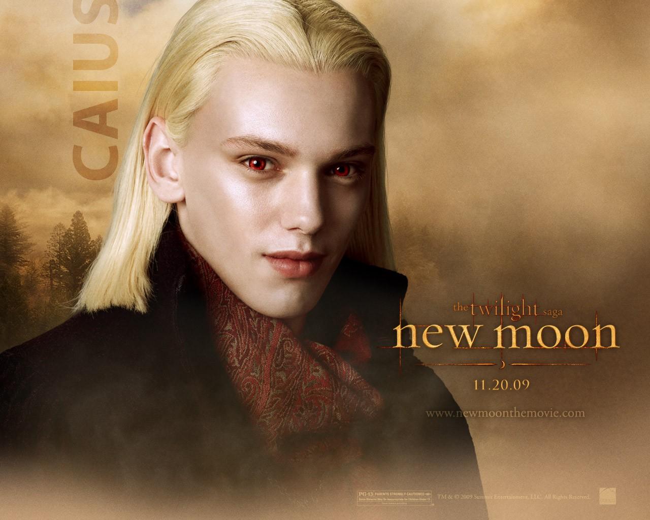 Un wallpaper dedicato al personaggio di Caius (Jamie Campbell Bower) per il film Twilight Saga: New Moon