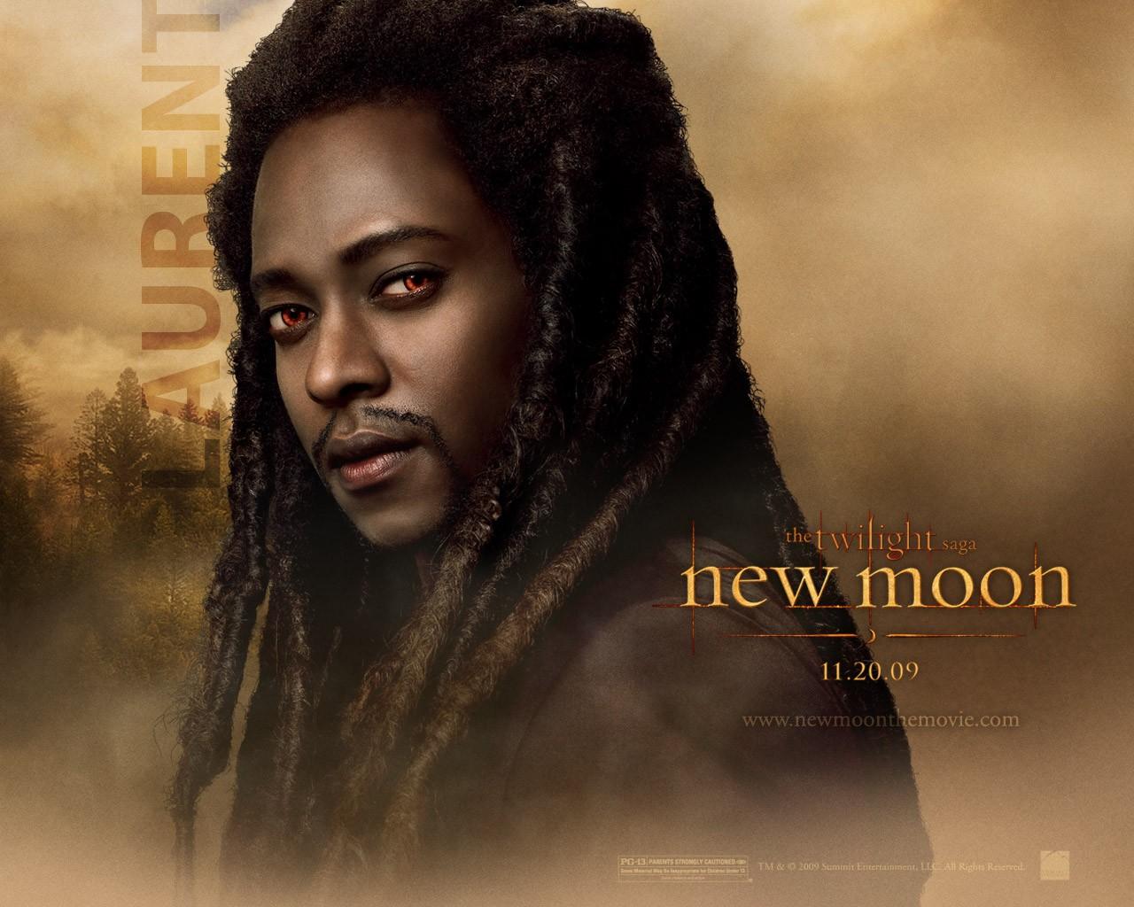 Un wallpaper dedicato al personaggio di Laurent (Edi Gathegi) per il film Twilight Saga: New Moon