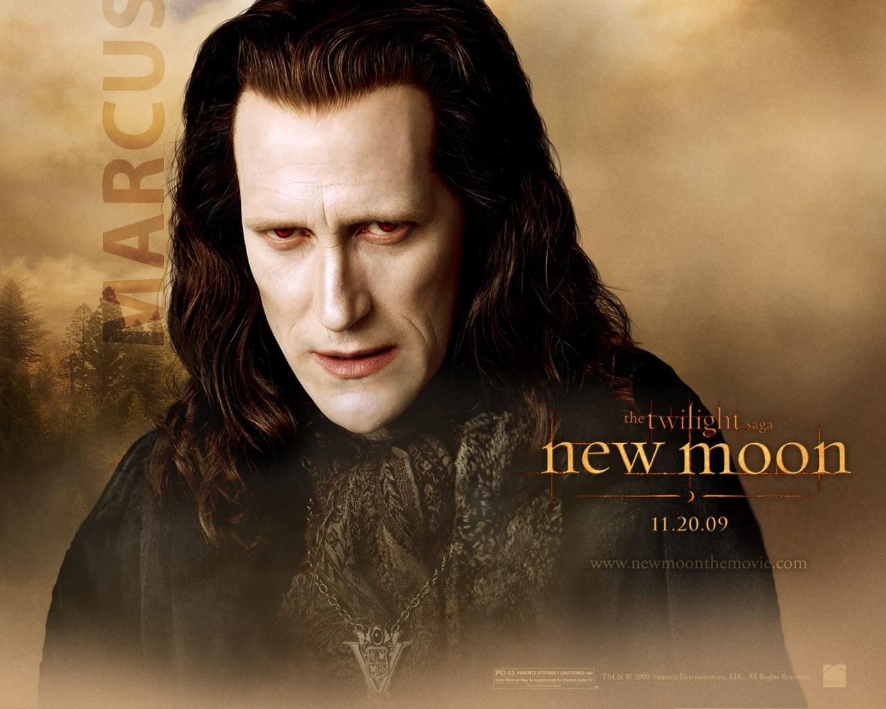 Un wallpaper dedicato al personaggio di Marcus (Christopher Heyerdahl) per il film Twilight Saga: New Moon