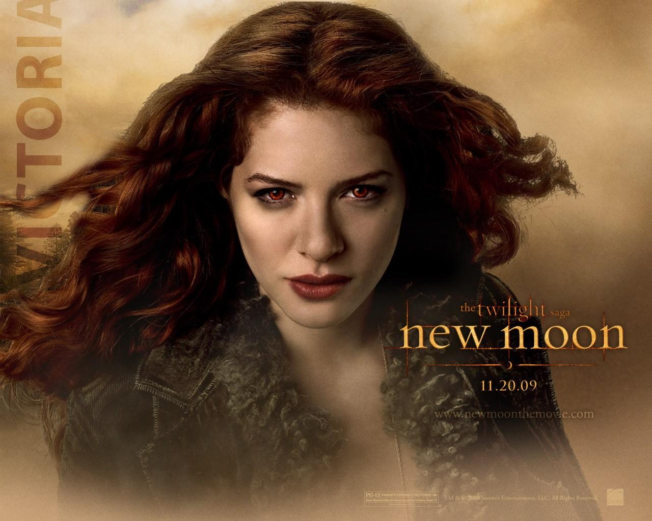 Un wallpaper dedicato al personaggio di Victoria (Rachelle Lefevre) per il film Twilight Saga: New Moon