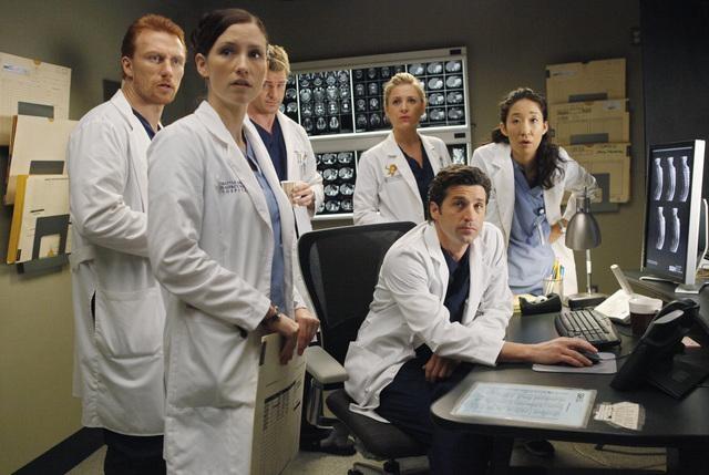 Grey's Anatomy: Una scena dell'episodio Give Peace a Chance