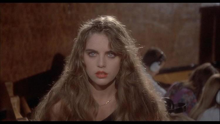 Ania Pieroni in una scena del film Inferno ( 1980 )