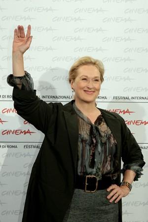 Festival di Roma 2009: una sorridente Meryl Streep