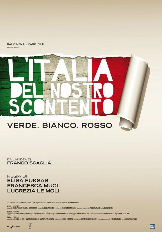 La locandina di L'Italia del nostro scontento