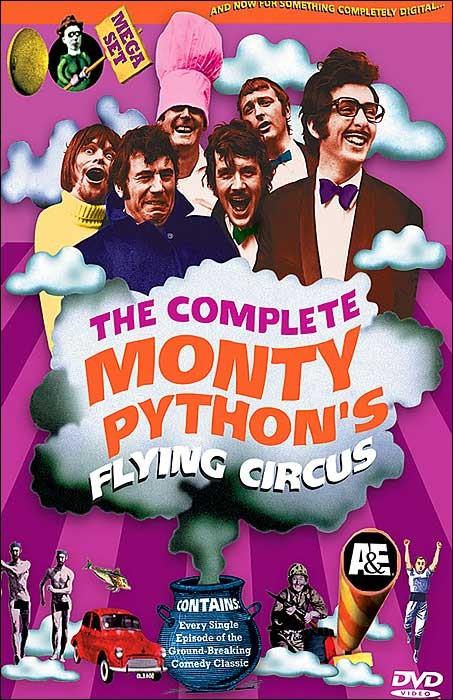 La locandina di Monty Python's Flying Circus