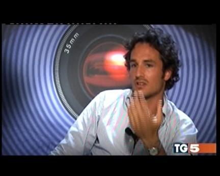 Una foto di Alberto Baiocco, primo concorrente ufficiale del Grande Fratello 10