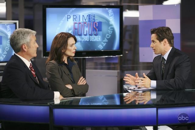 V: Billy Mitchell, Jacqueline Ann Steuart e Scott Wolf nell'episodio There Is No Normal Anymore