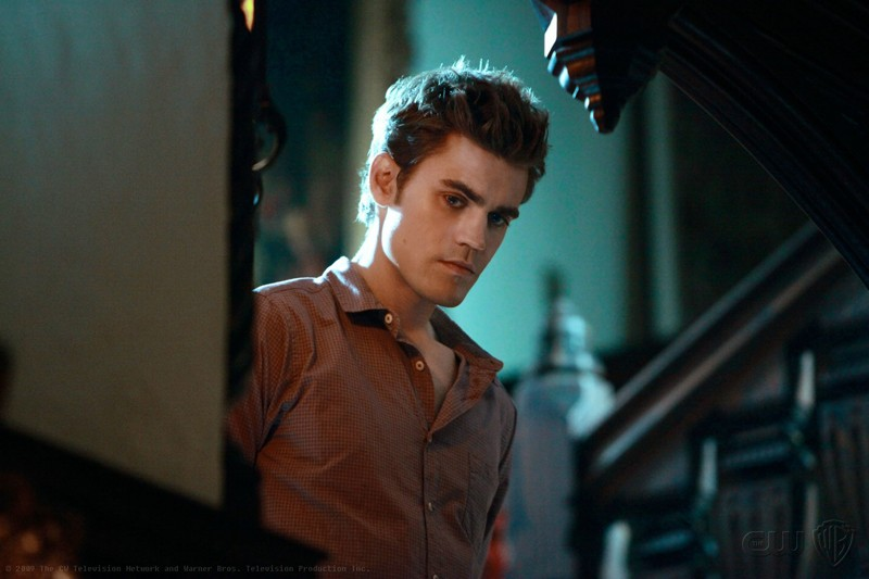 Paul Wesley nell'episodio Haunted di The Vampire Diaries