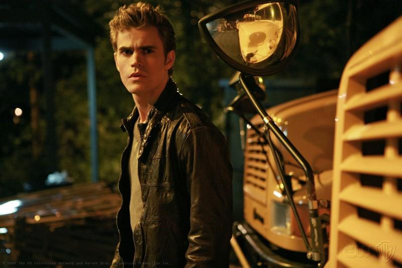 Stefan (Paul Wesley) in un momento dell'episodio Haunted di The Vampire Diaries