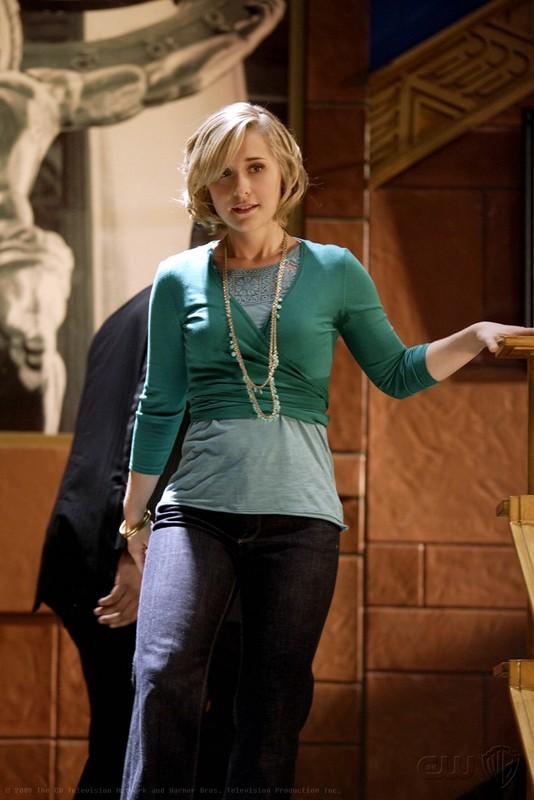 Allison Mack interpreta Chloe nell'episodio Crossfire di Smallville