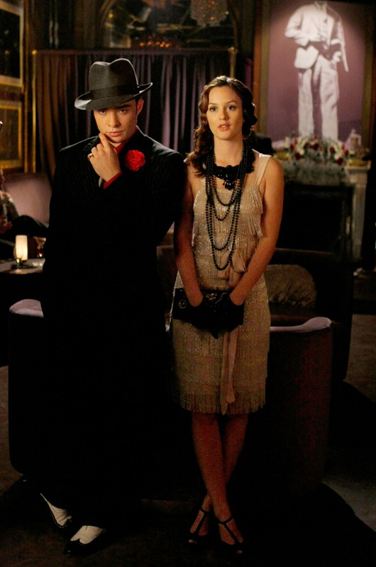 Chuck (Ed Westwick) e Blair (Leighton Meester) nell'episodio How to Succeed in Bassness di Gossip Girl