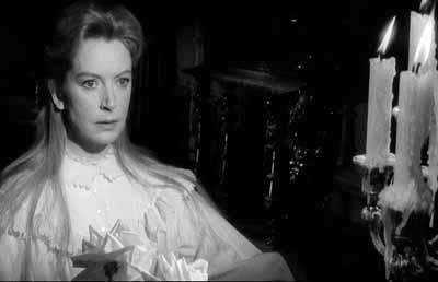 Deborah Kerr in una scena del thriller Suspense ( 1961 )