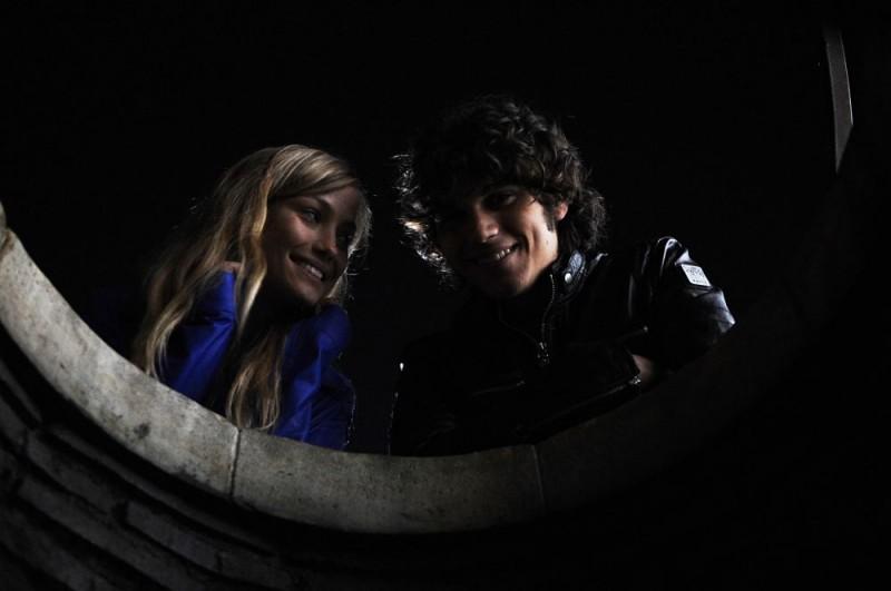 Giuseppe Maggio e Veronica Oliver in una scena del film Amore 14