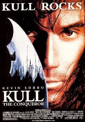 La locandina di Kull il conquistatore