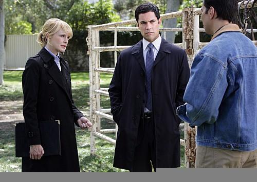 Cold Case: Kathryn Morris e Danny Pino nell'episodio Dead Heat