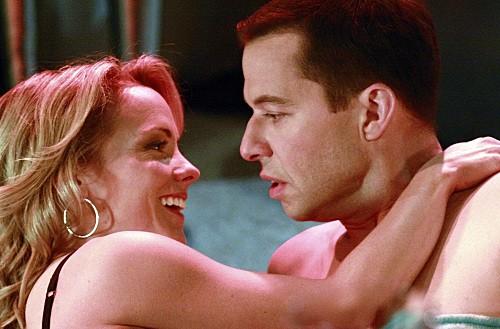Due uomini e mezzo: Kelly Stables ed Jon Cryer nell'episodio Laxative Tester, Horse Inseminator