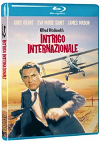 La copertina di Intrigo internazionale (blu-ray)
