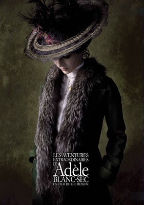La locandina di Les Aventures Extrodinaire d'Adele Blanc-Sec