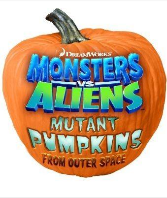 La locandina di Monsters vs Aliens: Mutant Pumpkins from Outer Space