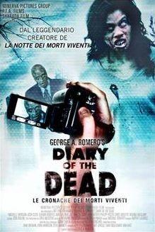 La locandina italiana di Diary of the Dead