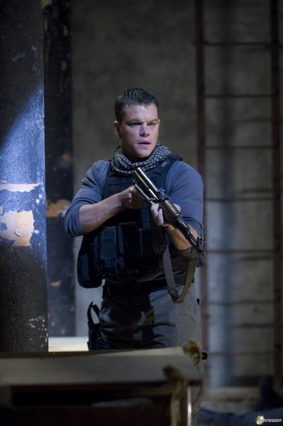 Matt Damon in azione in Green Zone