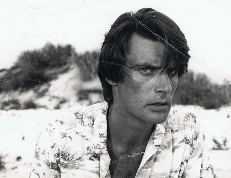 Paolo Rosani in una foto scattata nel 1980 in Brasile