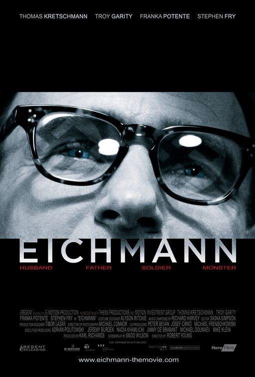 La locandina di Eichmann