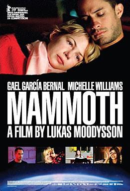 La locandina inglese di Mammoth