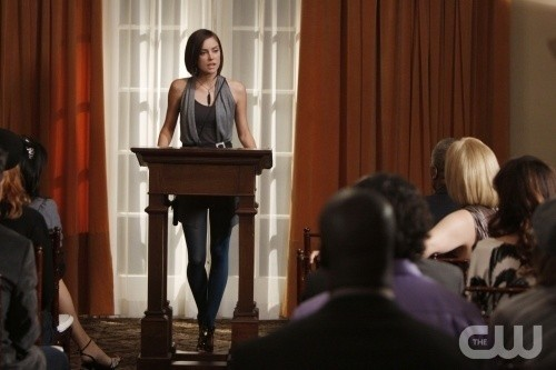 Jessica Stroup nell'episodio Environmental Hazards di 90210
