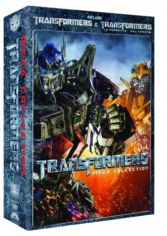 La copertina di Transformers Mega Collection (dvd)