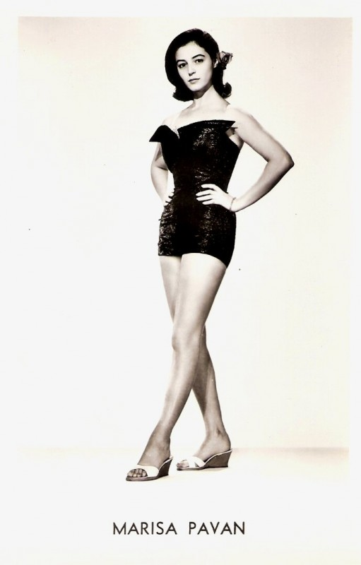 Marisa Pavan in una foto promozionale