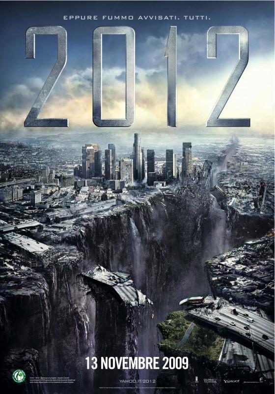 Nuova locandina di 2012