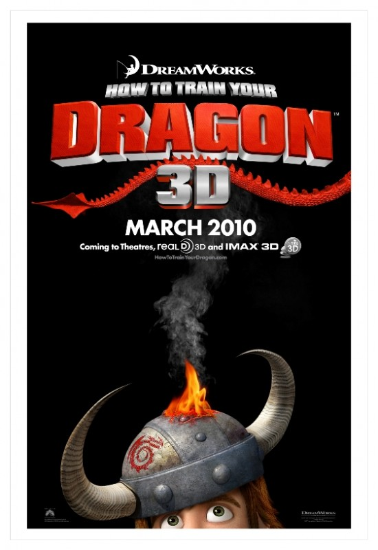 Un nuovo teaser poster per How to Train Your Dragon