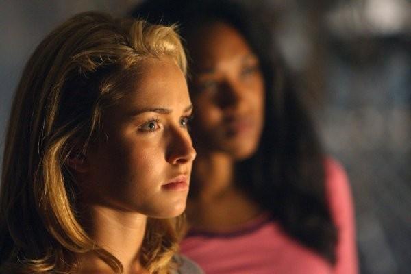 Hayden Panettiere in una scena tratta da Strange Attractors dalla quarta stagione di Heroes