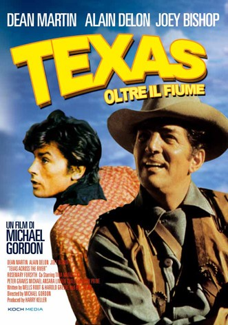 La copertina di Texas oltre il fiume (dvd)