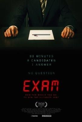 La locandina di Exam